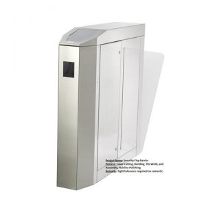 Security Flap Barrier